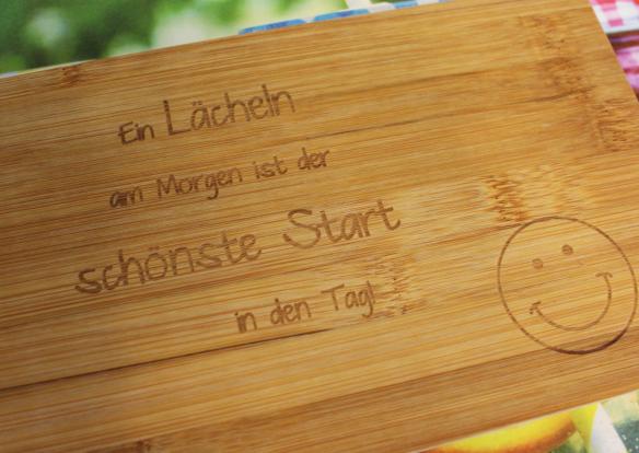 Holzbrettchen personalisiert