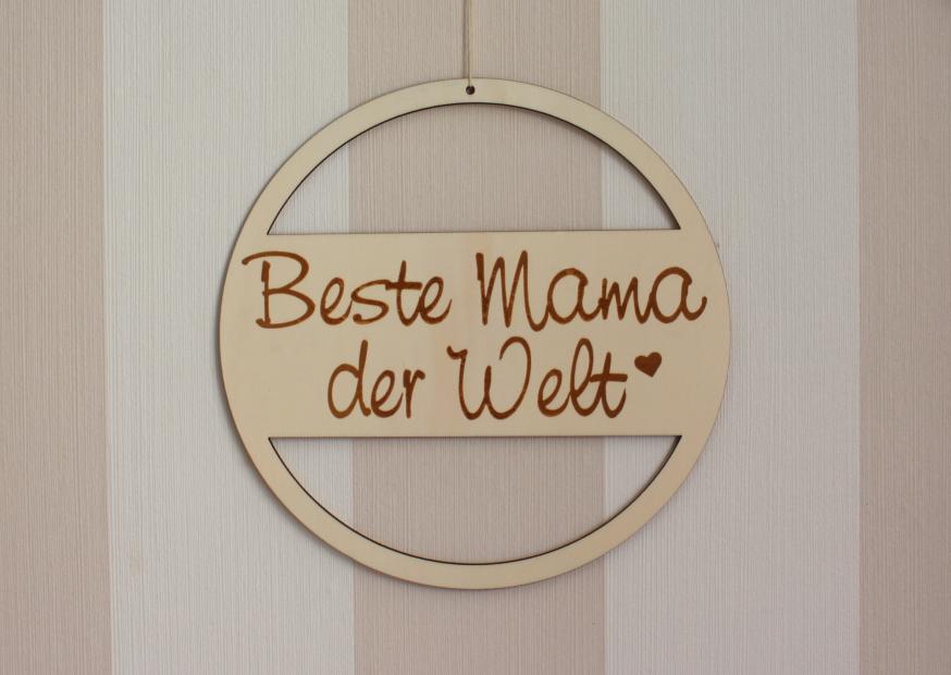 Holzrahmen zum Muttertag